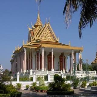 Silver Pagoda, Phnom Penh, cambodia , angkor