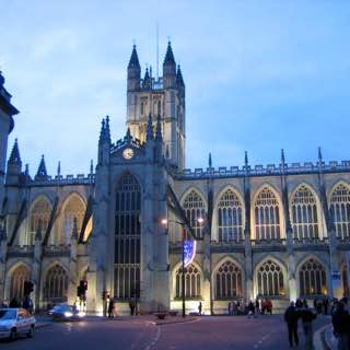 Bath Abbey, uk , bath