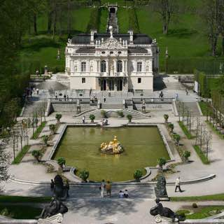 Linderhof Palace, germany , bavarianalps