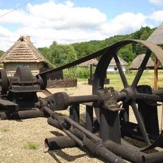 Rural Architecture Museum of Sanok, poland , bieszczadymountains