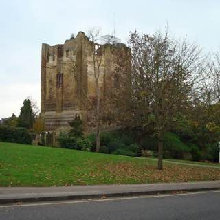 Guildford Castle, uk , brighton