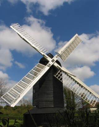 High Salvington Windmill, uk , brighton