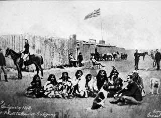 Fort Calgary, canada , calgary