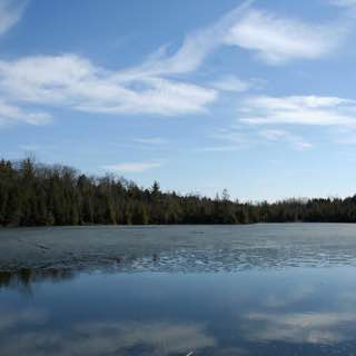 Crawford Lake Conservation Area, uk , cambridge