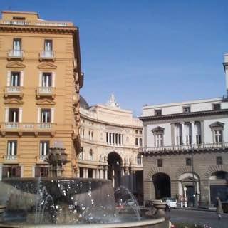 Teatro di San Carlo, Naples, italy , capri
