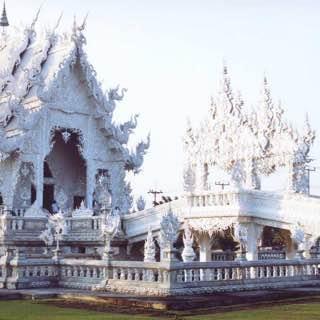 Wat Rong Khun, thailand , chiangrai