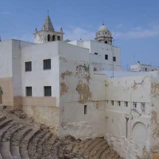 Roman Theatre, spain , costadelaluz