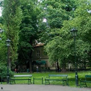 Planty Park, poland , cracow