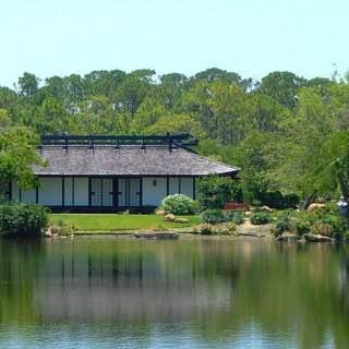Morikami Museum and Japanese Gardens, usa , floridasouthern