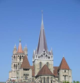 Lausanne Cathedral, switzerland , geneva
