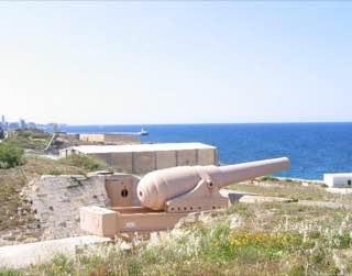 Fort Rinella, malta , gozo