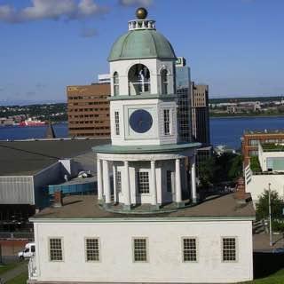 Halifax Town Clock, canada , halifax