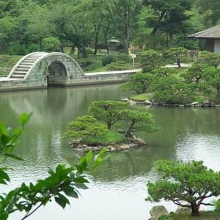 Shukkei-en, japan , hiroshima