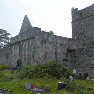 Muckross Abbey, ireland , killarney