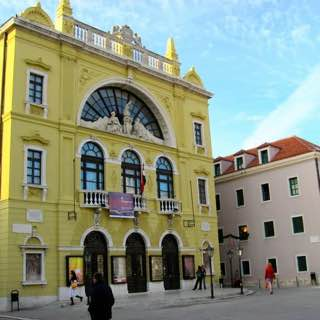 Croatian National Theatre in Split, croatia , krkanationalpark