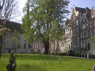 Begijnhof, Amsterdam, netherlands , lisse
