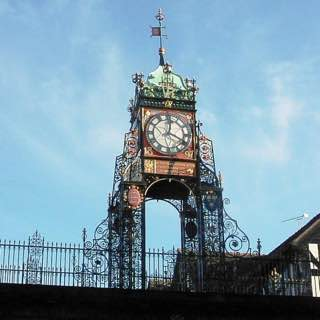 Eastgate and Eastgate Clock, uk , liverpool