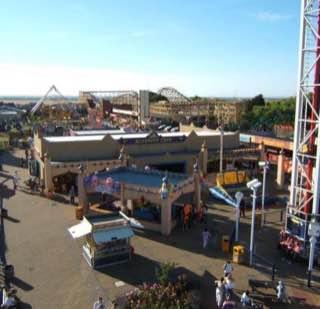 New Pleasureland Southport, uk , liverpool