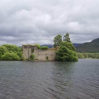 Loch an Eilein, scotland , lochness