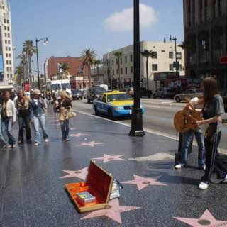 Hollywood Walk of Fame, usa , losangeles