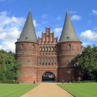 Holstentor, germany , lubeck