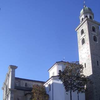 Cathedral of Saint Lawrence, switzerland , lugano