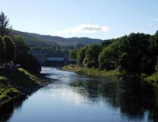 River Tummel, scotland , luskentyrebeach