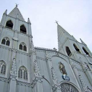 Basilica of San Sebastian, Manila, philippines , manila