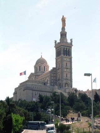 Notre-Dame de la Garde, france , marseille