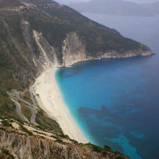 Myrtos Beach, greece , meganissi