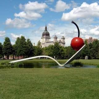 Minneapolis Sculpture Garden, usa , minneapolis