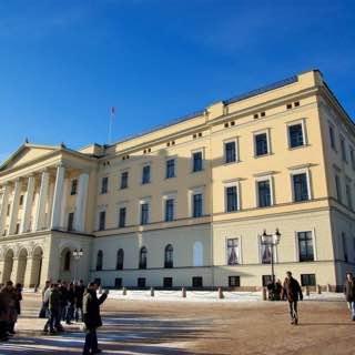 Royal Palace, Oslo, norway , oslo