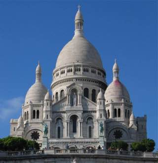Basilica of the Sacré Cœur, france , paris