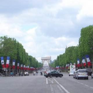 Champs-Élysées, france , paris