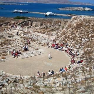 Archaeological Museum of Delos, greece , paros