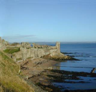 St Andrews Castle, scotland , perth