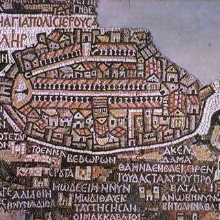 Madaba Map, usa , philadelphia