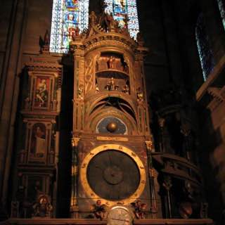 Strasbourg astronomical clock, france , provence