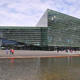 Harpa, iceland , reykjavik