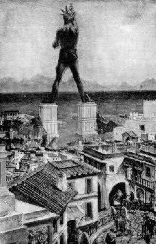 Colossus of Rhodes, greece , rhodes