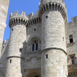 Palace of the Grand Master of the Knights of Rhodes, greece , rhodes