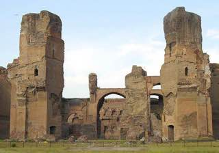 Baths of Caracalla, italy , rome