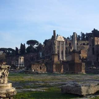 Roman Forum, italy , rome