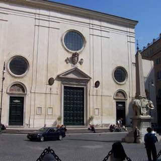 Santa Maria sopra Minerva, italy , rome