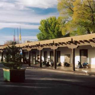 Palace of the Governors, usa , santafe