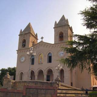 Sanctuary of Gibilmanna, italy , sicily