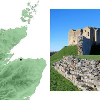 Duffus Castle, scotland , skarabrae