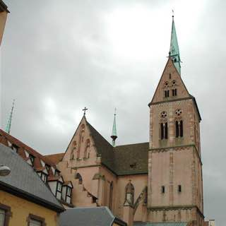 Saint-Pierre-le-Jeune Protestant Church, france , strasbourg