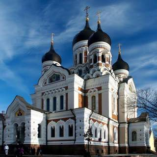 Alexander Nevsky Cathedral, Tallinn, estonia , tallinn