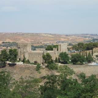 Castillo de San Servando, spain , toledo
